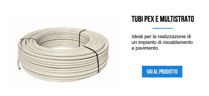 Tubi Pex e multistrato per la realizzazione di un impianto di riscaldamento a pavimento